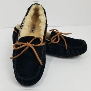 UGG Women's Size 8 Dakota Slippers Black